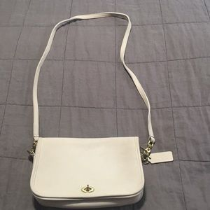 Coach vintage white Crossbody small purse
